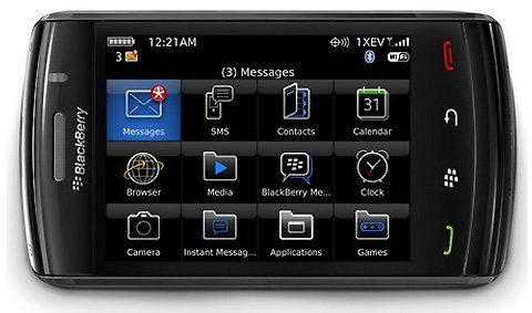 RIM เปิดตัว สมาร์ทโฟนรุ่นใหม่ แบล็กเบอร์รี่ สตอร์ม 2