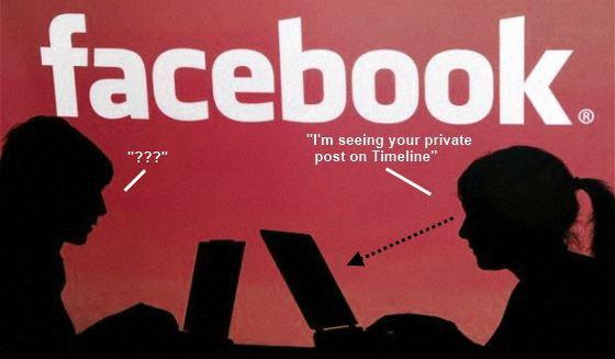 """เฟซบุ๊กโชว์""""ข้อความส่วนตัว""""บนไทม์ไลน์"""