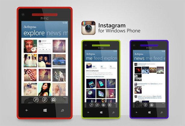 เตรียมเฮ Instagram ในวินโดวส์โฟน