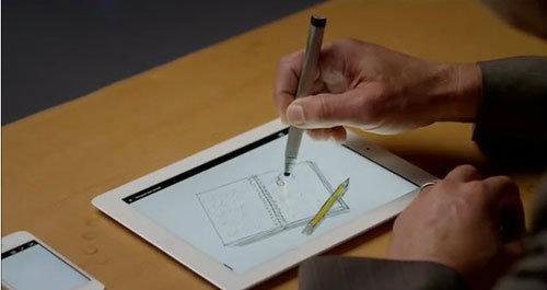 Adobe โชว์อุปกรณ์สุดเจ๋งสำหรับ iPad