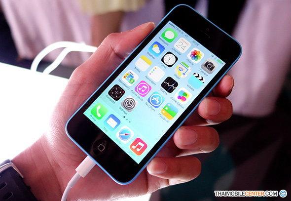 พรีวิวตัวเครื่อง iPhone 5c เครื่องศูนย์ไทย