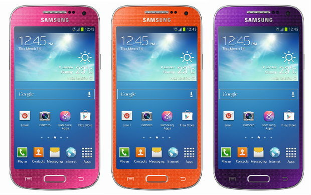 Galaxy S4 Mini 3 สีใหม่ สดใสโดนใจวัยสะรุ่น