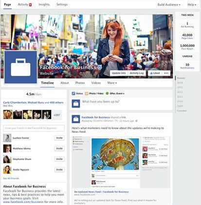 Facebook Page เปลี่ยนดีไซน์ใหม่ ปรับไทม์ไลน์ให้เหลือแถวเดียว