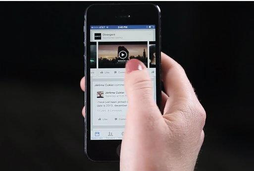 Facebook เริ่มปล่อยโฆษณา ในรูปแบบวีดีโอ บน News Feed แล้ว