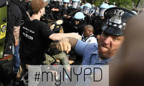 สม!!! ตำรวจมะกันโดนแฉภาพใช้ความรุนแรงผ่าน Twitter