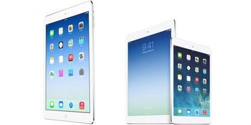 iPad ขนาดหน้าจอใหม่ เปิดตัวตุลาคม 2557