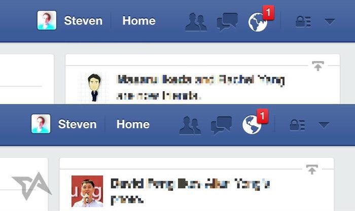เมื่อ!! ลูกโลกใน Facebook เปลี่ยนซีกได้
