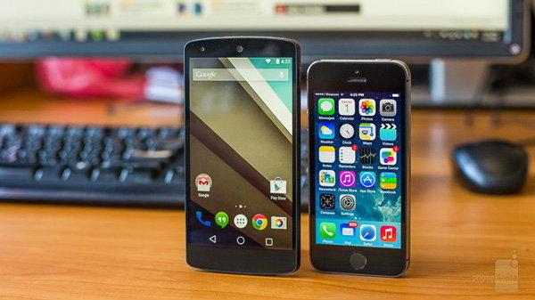 ชมกันชัดๆ Android L vs iOS 8 แบบไหนน่าใช้กว่ากัน