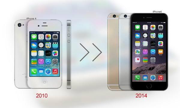 ลมหายใจแผ่วๆ ของ iPhone 4 ในยุค iPhone 6