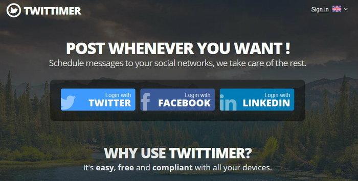 ตั้งเวลาทวีตล่วงหน้า (ทวีตรูปได้ด้วย) ง่ายๆด้วย Twittimer