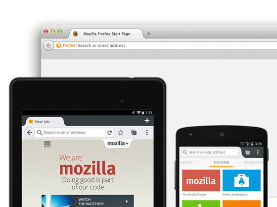 Firefox 34 for Android: รองรับ Chromecast