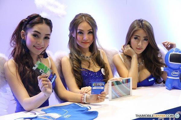 เก็บตกพริตตี้สาวสวย ในงาน Thailand Mobile Expo 2015