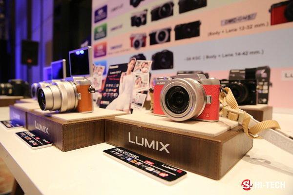 พานาโซนิคเปิดตัว LUMIX GF7 กล้องเซลฟี่ไม่ง้อมือกด