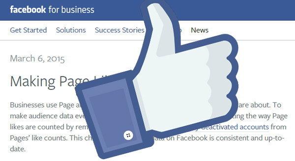 เจ้าของเพจอย่าตกใจ ! ยอด like ลด เนื่องจาก Facebook ได้ยกเลิกบัญชีไม่ใช้งาน