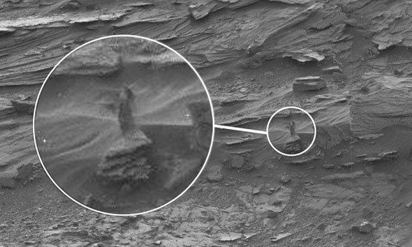 ฮือฮาจากนอกโลก ยานสำรวจอวกาศนาซ่า จับภาพผู้หญิงบนดาวอังคาร