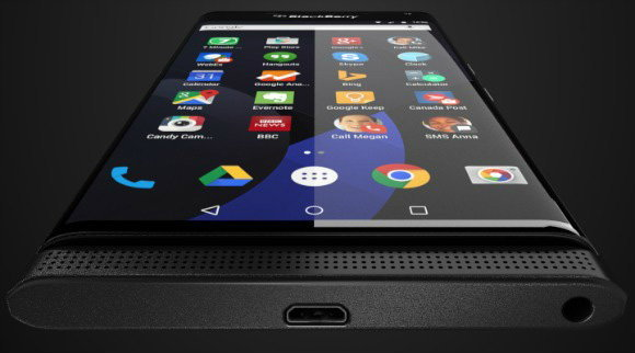หลุดภาพเรนเดอร์ BlackBerry Venice มือถือแอนดรอยด์ตัวแรกของค่าย ที่มาพร้อมกับหน้าจอโค้ง