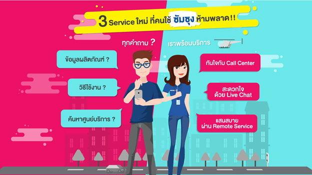 ซัมซุงเอาใจสาวกสุดฤทธิ์กับบริการใหม่!  Samsung Flexi Service ตอบทุกคำถามผ่าน 3 ช่องทางบริการ