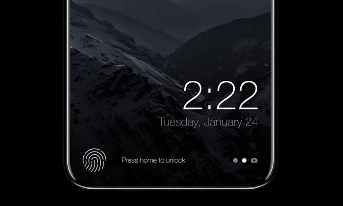 Apple อาจย้าย Touch ID ไปไว้หลังเครื่อง iPhone 8 แทน