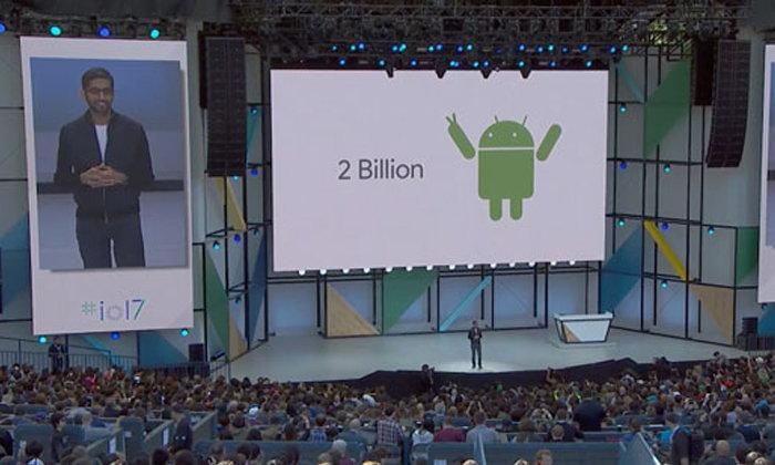 [งาน Google I/O] : Android มีผู้ใช้ต่อเดือน รวมทุกอุปกรณ์แล้วถึง 2 พันล้านเครื่อง