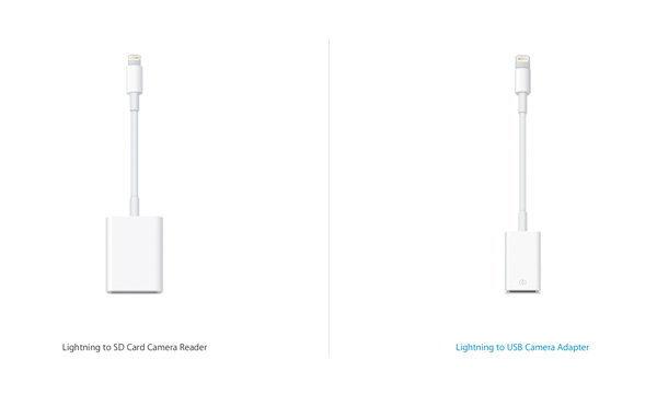 ปล่อยของ Apple ออกสายแปลง Lightning เป็น USB หรือ SD Card ออกขายเส้นละ 1,200 บาท