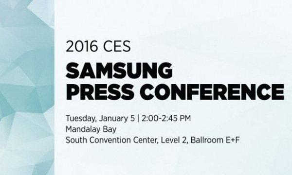 หลุดรายละเอียดการจัดแสดงงาน CES 2016 ของ Samsung แล้ว แต่ไร้เงา Samsung Galaxy S7