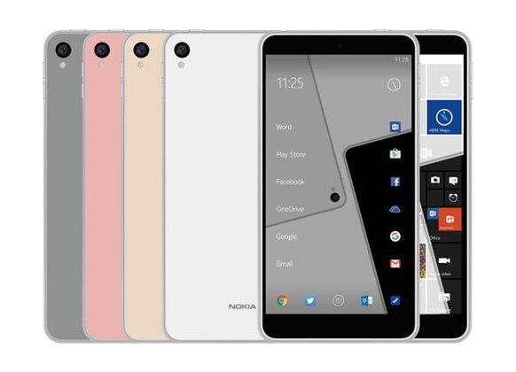 ภาพเรนเดอร์ชุดใหม่ Nokia C1 ชี้ชัด มีให้เลือก 2 รุ่น รัน Android และ Windows 10 Mobile