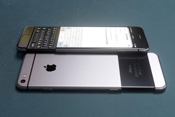 คอนเซปท์นี้มาแปลก กับ iPhone 7 มาพร้อมแป้นคีย์บอร์ด QWERTY แบบสไลด์ คล้าย BlackBerry Priv