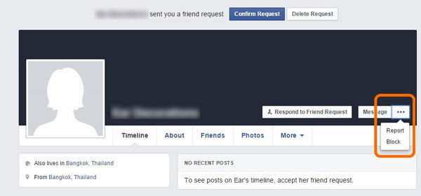 แก้ไข Facebook ถูกแฮก เปลี่ยน Password