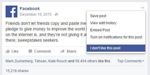 Facebook ปรับอัลกอริทึม News Feed ไม่ได้สนใจแค่ไลค์ แต่คุณภาพของโพสต์มีผลด้วย