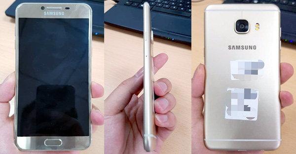 Samsung Galaxy C5 หลุดภาพตัวเครื่องอย่างเป็นทางการก่อนวันเปิดตัวเพียง 2 วัน