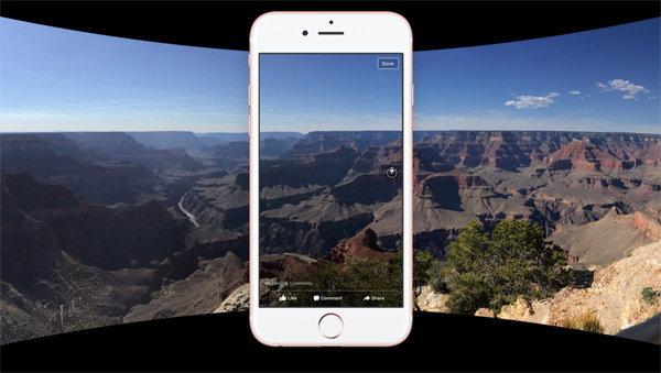 เฟซบุ๊กประกาศรองรับภาพ 360 องศา ปรับหมุนได้รอบทิศทางเหมือนวิดีโอ