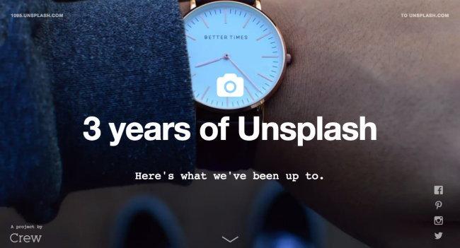 เว็บแจกภาพฟรี Unsplash ครบรอบ 3 ปี มีภาพให้ใช้งานมากกว่า 8 หมื่นภาพแล้ว