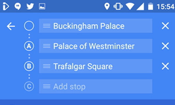Google Maps เตรียมเพิ่ม การกำหนดจุดเดินทางได้มากถึง 1 จุด