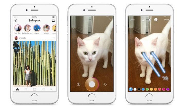 Instagram เปิดตัวโหมด Stories แชร์ภาพแบบลบตัวเองเมื่อผ่านไป 24 ชั่วโมง
