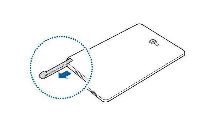 เผยภาพหลุด Render ของ Samsung Galaxy Tab A With Pen ขนาด 10.1 นิ้ว