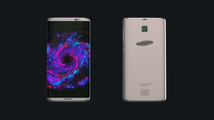 มาแล้วภาพคอนเซปท์ Samsung Galaxy S8 สวยไม่แพ้รุ่นพี่