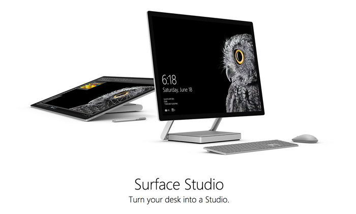 มาแล้ว Surface Studio คอมพิวเตอร์ All in One ร่างใหญ่พร้อมจอสัมผัส พร้อมขายธันวาคมนี้