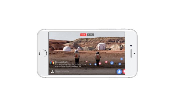 Facebook เพิ่มฟีเจอร์ Video 360 องศาในรูปแบบ Live