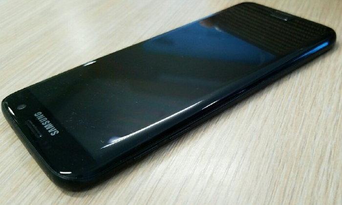 ยลโฉม Samsung Galaxy S7 edge สีดำเวอร์ชั่นใหม่ ก่อนวางขายจริงเดือนธันวาคม