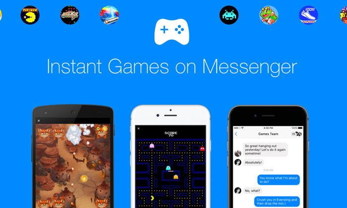 Facebook เพิ่ม Instant Game เล่นเกมแข่งกับเพื่อได้บน Messenger ทันที