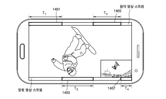 หลุดภาพสิทธิบัตรการตั้งค่ากล้องคู่ของ Samsung