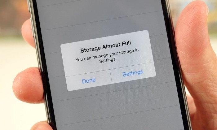 วิธีง่าย ๆ ในการเคลียร์พื้นที่เก็บข้อมูลเครื่อง iPhone