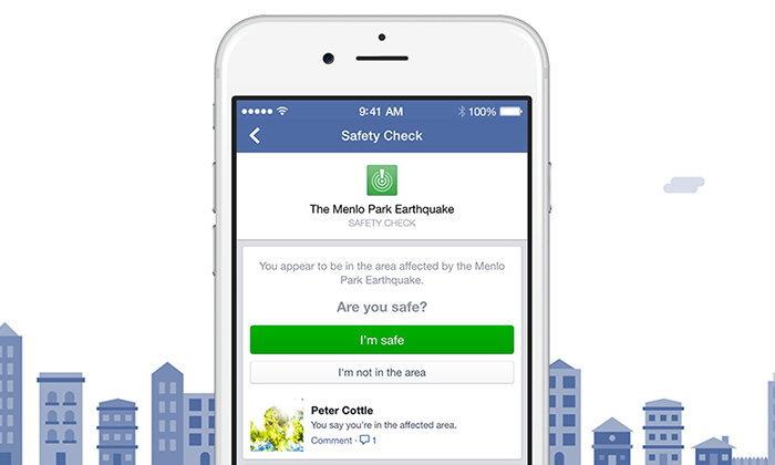 Facebook ออกแถลงเรื่องระบบ Safety Check แจ้งเตือนผิดพลาดเมื่อวานนี้