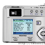 Pentax Optio 550