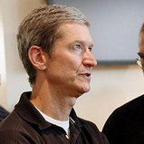 Tim Cook CEO+Steve Jobs