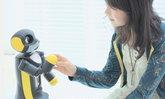 ว้าว!!! หุ่นยนต์เพื่อนใหม่หัวใจไอพอดทัช