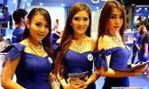 เก็บตก!! สาวน้อยพริตตี้ ภายในงาน Thailand Mobile Expo 2013 Showcase