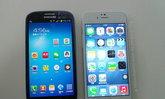 มาอีกชุด กับภาพหลุด iPhone 6 เทียบ  Galaxy S3