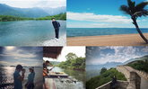 รวมภาพสถานที่เที่ยวสวยๆ จาก instagram ดารา