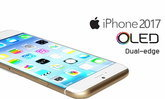 iPhone ปี 2017 จะมาพร้อมกับหน้าจอแบบ OLED ขอบโค้งทั้งสองด้าน